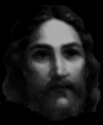 Jesus' face image