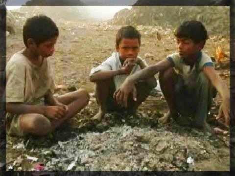 Boys in thier playground